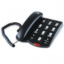 TELEFONE COM FIO TOKFACIL PRETO INTELBRAS