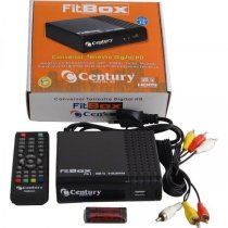 CONVERSOR DIGITAL TERRESTRE CENTURY FIT BOX