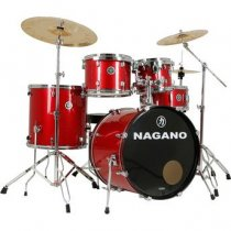 "BATERIA GARAGE ROCK 22"" - WINE SPARKLE - NAGANO"