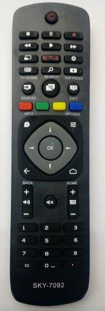 CONTROLE PARA TV PHILIPS SMART - NETFLIX - PARALELO