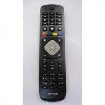 CONTROLE PARA TV PHILIPS 42PFG 6809 Y-7048 PRETO - GRANDE - PARALELO