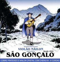 CORDA PARA VIOLÃO - NYLON - SÃO GONÇALO IZ 6742