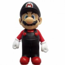 BONECO SUPER MARIO PRETO - SUPER MARIO SUPER SIZE FIGURE COLLECTION