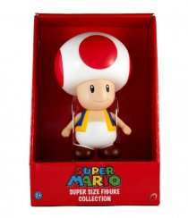 BONECO TOAD - SUPER MARIO SUPER SIZE FIGURE COLLECTION