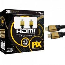 CABO HDMI 25 METROS 4K 2.0 3D ULTRA HD
