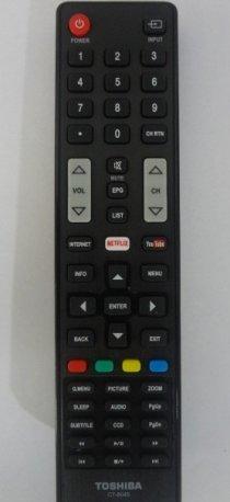 CONTROLE PARA TV SEMP TOSHIBA CT - 8045 - ORIGINAL